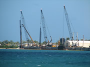 FY08 MCON P-431 Alpha and Bravo Wharf Improvements at the Commander Naval Region Marianas, Polaris Point – Guam