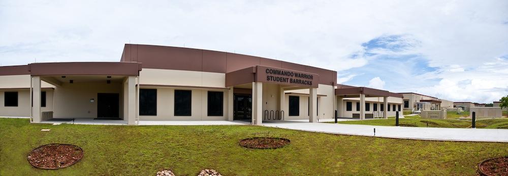 USN AAFB COMMANDO WARRIOR OPEN BAY STUDENT BARRACKS – FY11 MCAF PROJECT SAKW123001