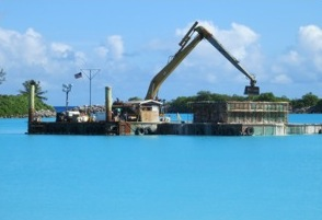 MAINTENANCE DREDGING, SMALL BOAT BASIN AT U.S. NAVY SUPPORT FACILITY, DIEGO GARCIA