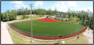 WON 1301741 SEED 2: REPAIR SOFTBALL FIELD,  FAC. 120 AT U.S. NAVY SUPPORT FACILITY, DIEGO GARCIA