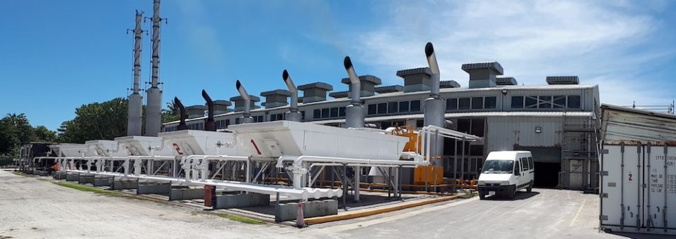 Repair Roof, North Power Plant, Diego Garcia