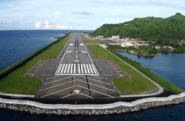 Chuuk International Airport Runway